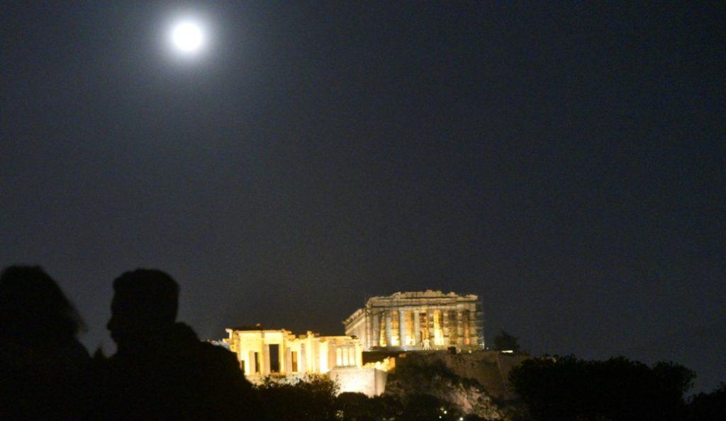 Το μεγαλύτερο φεγγάρι των τελευταίων 150 χρόνων στον αττικό ουρανό (pics) | Pagenews.gr