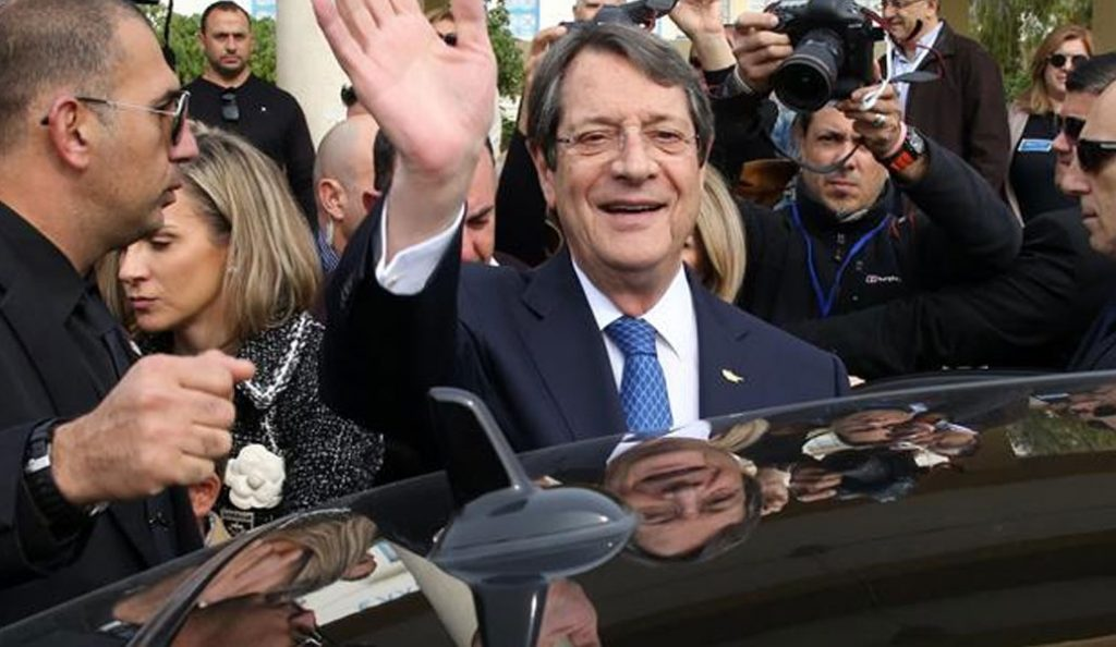 Νίκος Αναστασιάδης: Προτεραιότητα το πρόβλημα της κατοχής της πατρίδας μας | Pagenews.gr