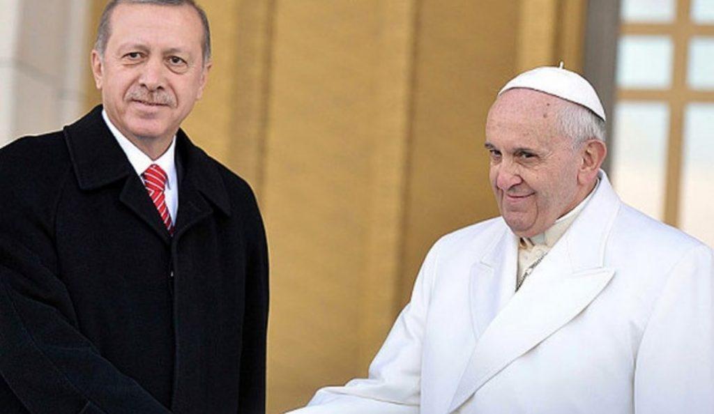 Βατικανό: Συνάντηση του Πάπα Φραγκίσκο με τον Ταγίπ Ερντογάν | Pagenews.gr