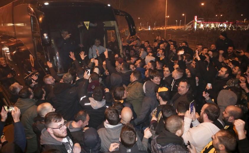 ΑΕΚ: Φωτογραφίες από την αποθεωτική υποδοχή (pics) | Pagenews.gr