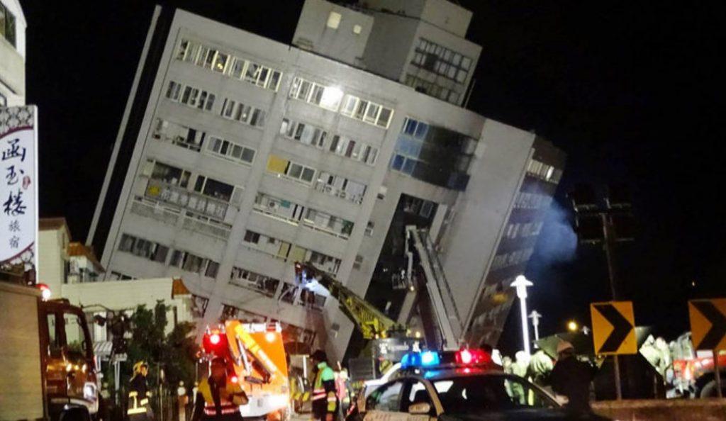Ταϊβάν: Τουλάχιστον τέσσερις νεκροί και 145 αγνοούμενοι από τον σεισμό (pics) | Pagenews.gr