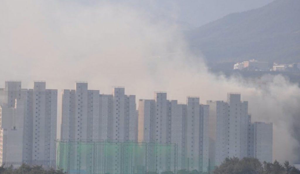 Πυρκαγιά στο Ολυμπιακό Χωριό της Νότιας Κορέας | Pagenews.gr