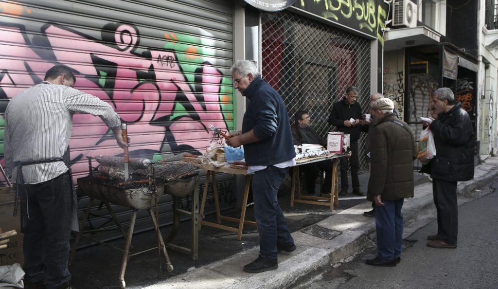 Τσικνοπέμπτη στο κέντρο της Αθήνας | Pagenews.gr