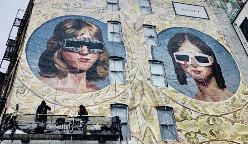 Gucci: Με δύο τεράστιες τοιχογραφίες «διακόσμησε» Νέα Υόρκη και Μιλάνο (pic) | Pagenews.gr