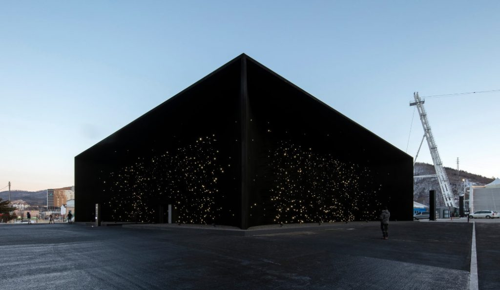 Πιονγκτσάνγκ: Οι Χειμερινοί Ολυμπιακοί Αγώνες έχουν το πιο σκοτεινό κτίριο στον πλανήτη (pics &vid)   Pagenews.gr