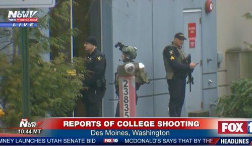 ΗΠΑ: Πληροφορίες για πυροβολισμούς σε κολέγιο στην Ουάσινγκτον (pics & vid) | Pagenews.gr