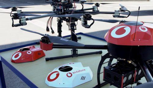 Η Vodafone καινοτομεί και δοκιμάζει την πρώτη στον κόσμο τεχνολογία για την ασφάλεια και εντοπισμού drones μέσω IOT   Pagenews.gr