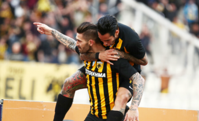 AEK – Πανιώνιος 1-0: Λιβάγια ίσον… κορυφή! | Pagenews.gr