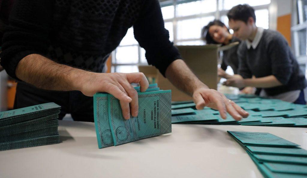 Εκλογές στην Ιταλία: Πάνω από 58% η συμμετοχή   Pagenews.gr