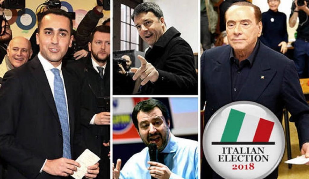 Εκλογές στην Ιταλία: Πολιτικός σεισμός, πρώτο κόμμα το Κίνημα Πέντε Αστέρων | Pagenews.gr