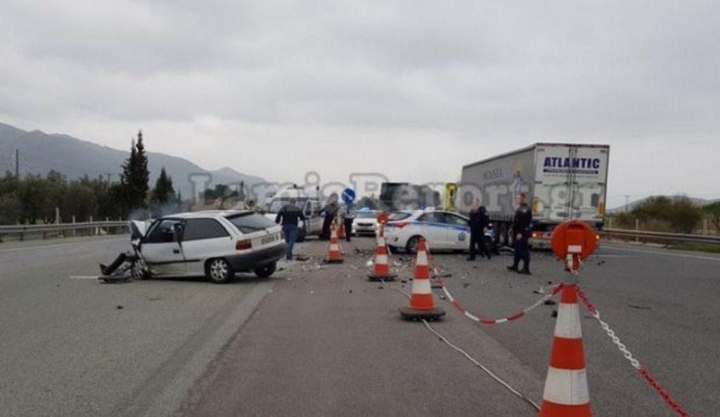 Οι πρώτες φωτογραφίες από την τρελή καταδίωξη – Νεκρός ο οδηγός (pics) | Pagenews.gr