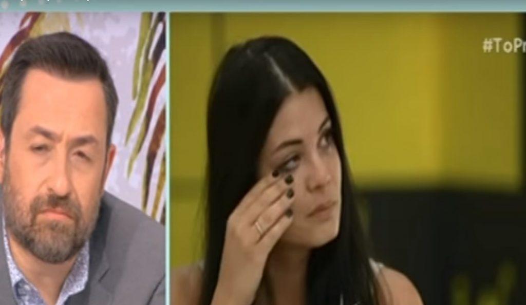 Κατέρρευσε μπροστά στην κάμερα η Μαρία Κορινθίου! (vid) | Pagenews.gr