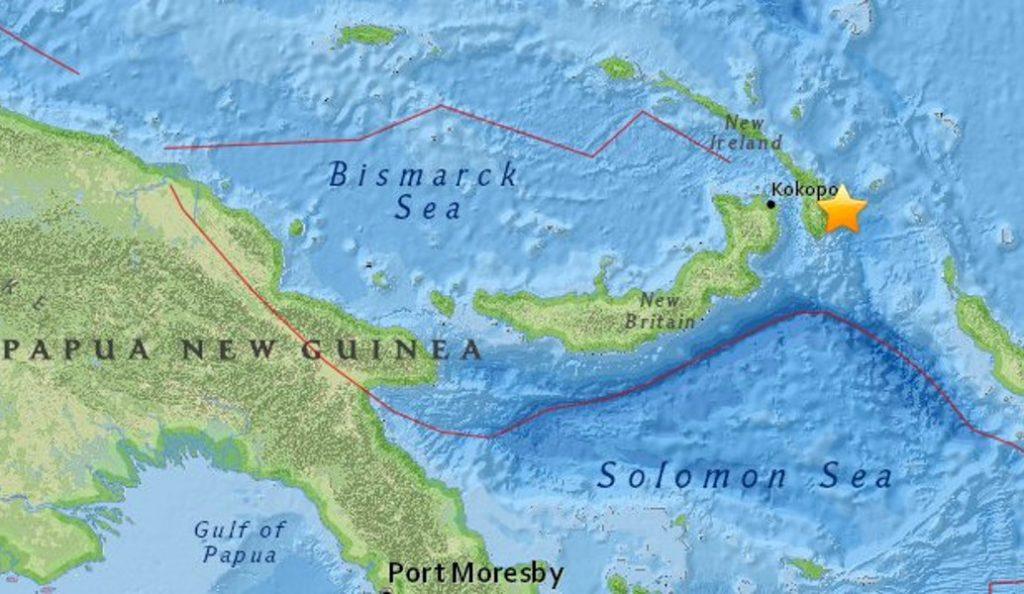 Παπούα Νέα Γουινέα: Νέος σεισμός 7,1 Ρίχτερ   Pagenews.gr