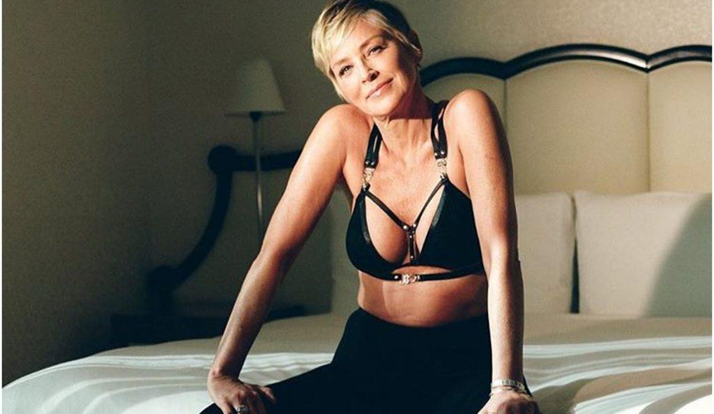 Η εκπληκτική κυρία Σάρον Στόουν «προκαλεί» στα 60 της (pics) | Pagenews.gr