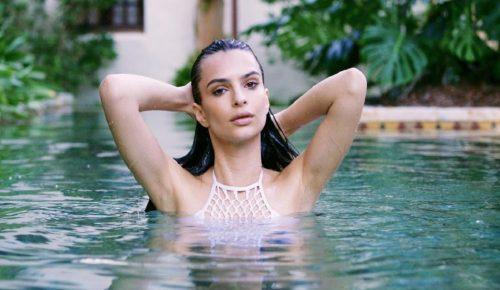 Το μοντέλο – φαντασίωση, Έμιλι Ραταϊκόφσκι, στη Μύκονο – Δείτε την (vid) | Pagenews.gr