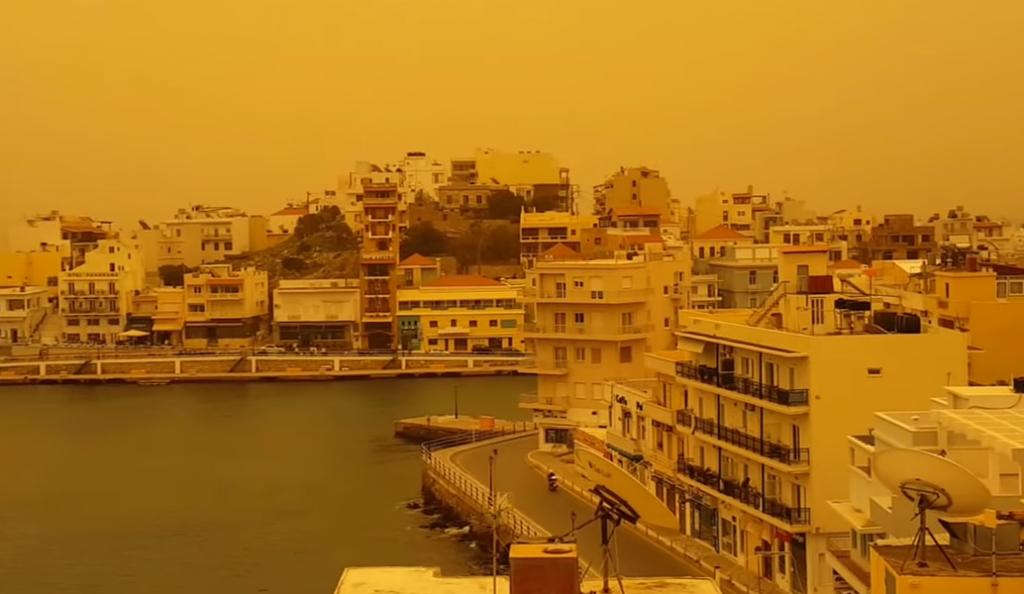 Η αφρικανική σκόνη επιστρέφει και κλείνει σχολεία   Pagenews.gr
