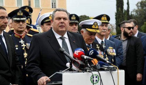 Πάνος Καμμένος: Θα συντρίψουμε όποιον τολμήσει να αμφισβητήσει την εθνική μας κυριαρχία (vid)   Pagenews.gr
