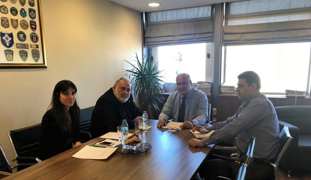 Τζανέτος Φιλιππάκος: Συνάντηση εργασίας με τον ειδικό απεσταλμένο του Δ.Ο.Μ. | Pagenews.gr