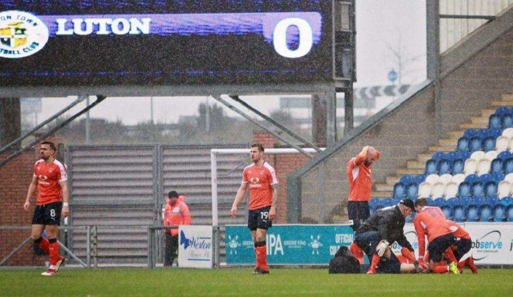 Φρικιαστικός τραυματισμός ποδοσφαιριστή στην Αγγλία (pics)   Pagenews.gr