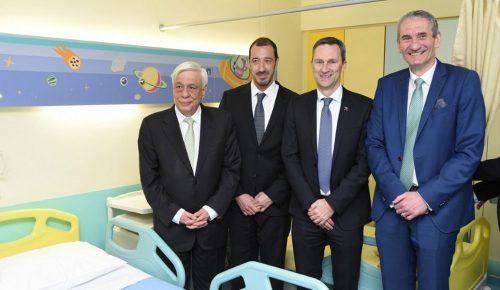 Το παιδιατρικό νοσοκομείο «Η Αγία Σοφία» αλλάζει «πρόσωπο» με την προσφορά του ΟΠΑΠ (vid) | Pagenews.gr