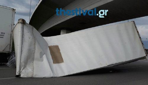 «Δίπλωσε» νταλίκα στην Εγνατία Οδό (pics) | Pagenews.gr