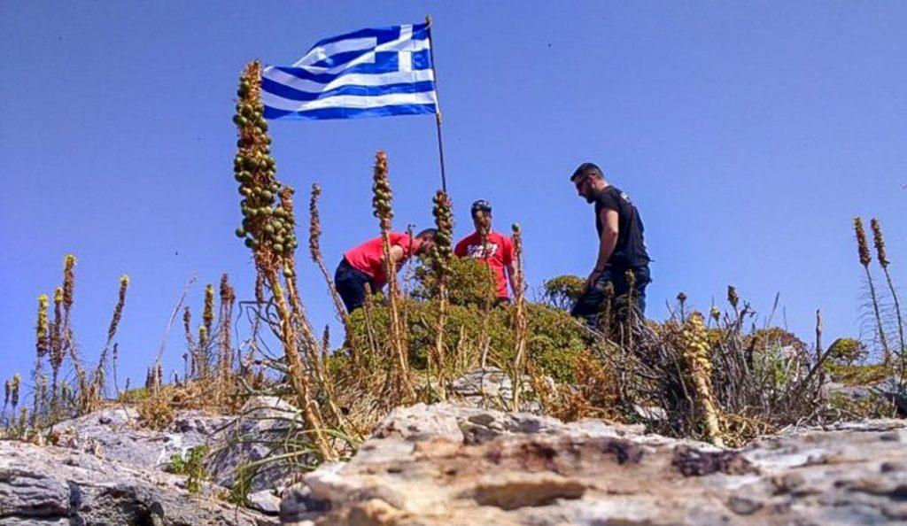 Γιλντιρίμ – Τσαβούσογλου επιμένουν για τη σημαία – Διαψεύδει το Υπουργείο Άμυνας (pics&vid) | Pagenews.gr