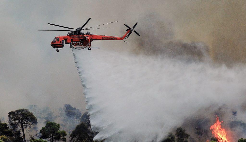 Πυρκαγιά στην Ηλεία: Δεν υπάρχει ενεργό μέτωπο στην Φρίξα | Pagenews.gr