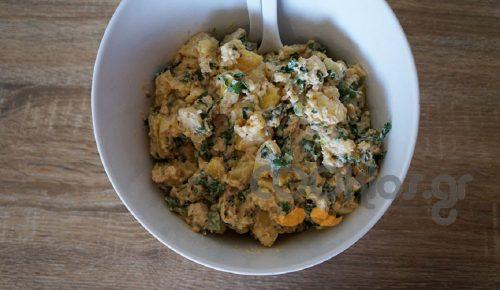 Η συνταγή της ημέρας: Πεντανόστιμη ελαφριά πατατοσαλάτα με γιαούρτι | Pagenews.gr