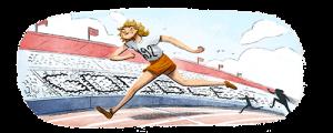 Στη διάσημη ολυμπιονίκη Φάνι Μπλάνκερς-Κοέν αφιερωμένο το σημερινό doodle της Google   Pagenews.gr