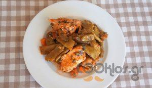 Η συνταγή της ημέρας: Φασολάκια με φιλέτα κοτόπουλο | Pagenews.gr
