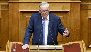 Ξεσπάθωσε κατά της Τουρκίας ο Γιούνκερ μέσα από την ελληνική Βουλή   Pagenews.gr
