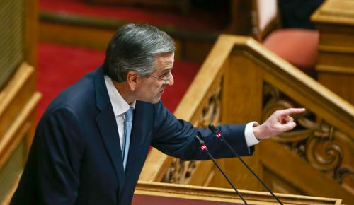 Πρόταση μομφής: Η ομιλία Σαμαρά στη Βουλή για το Σκοπιανό   Pagenews.gr