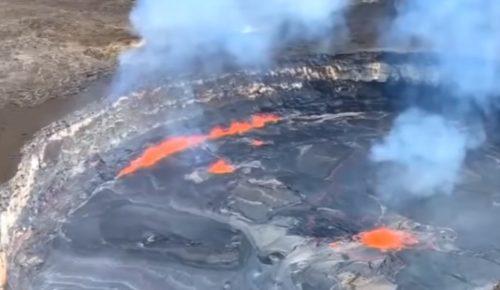 Ισχυρές σεισμικές δονήσεις στη Χαβάη – «Βρυχάται» το ηφαίστειο Κιλαουέα (vids) | Pagenews.gr