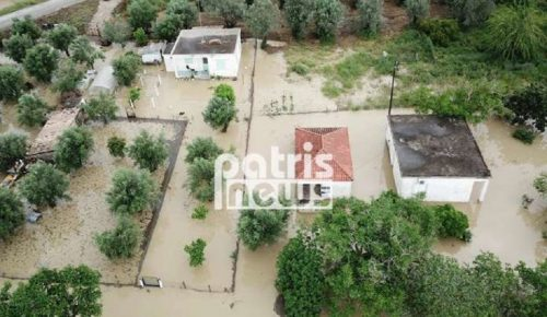 Ηλεία: Η κακοκαιρία «σάρωσε» πολλές περιοχές – Σοβαρά προβλήματα από τις πλημμύρες (pics&vids) | Pagenews.gr
