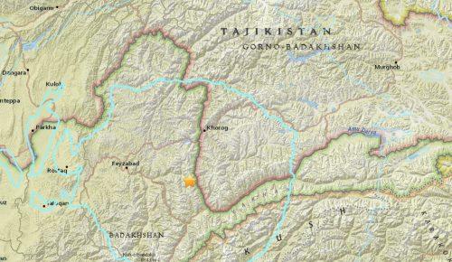 Ισχυρός σεισμός στο Τατζικιστάν, στα σύνορα με το Αφγανιστάν | Pagenews.gr