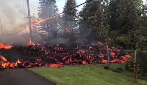 Χαβάη: Η λάβα του ηφαιστείου απειλεί εργοστάσιο παραγωγής ηλεκτρικής ενέργειας | Pagenews.gr