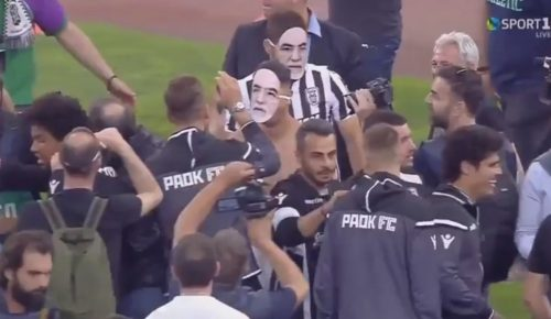 Με μάσκες Ιβάν Σαββίδη πανηγύρισαν οι παίκτες του ΠΑΟΚ! (vid) | Pagenews.gr