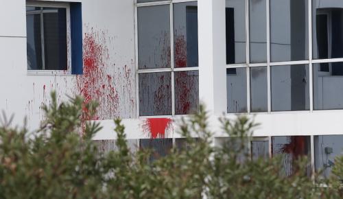 Επίθεση του Ρουβίκωνα στο σπίτι στις πρέσβειρας της Αυστρίας | Pagenews.gr