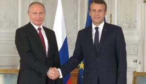 Τηλεφωνική επικοινωνία Πούτιν-Μακρόν για ανθρωπιστική βοήθεια στη Γιούτα | Pagenews.gr