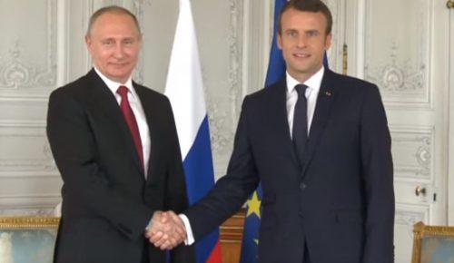 Ιράν, Συρία και Ουκρανία στο επίκεντρο της συνάντησης Μακρόν-Πούτιν | Pagenews.gr