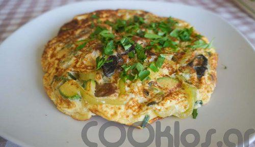Η συνταγή της ημέρας: Ομελέτα με κολοκυθάκι και κόκκινο κάρυ | Pagenews.gr