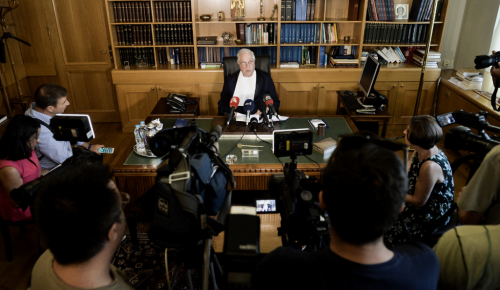 Βόμβα στο ΣτΕ: Παραιτήθηκε ο Πρόεδρος μετά τις διαρροές για το νόμο Κατρούγκαλου   Pagenews.gr