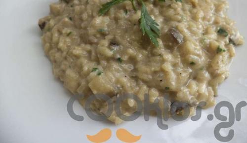 Η συνταγή της ημέρας: Ριζότο με μελιτζάνες και στραγγιστό γιαούρτι | Pagenews.gr