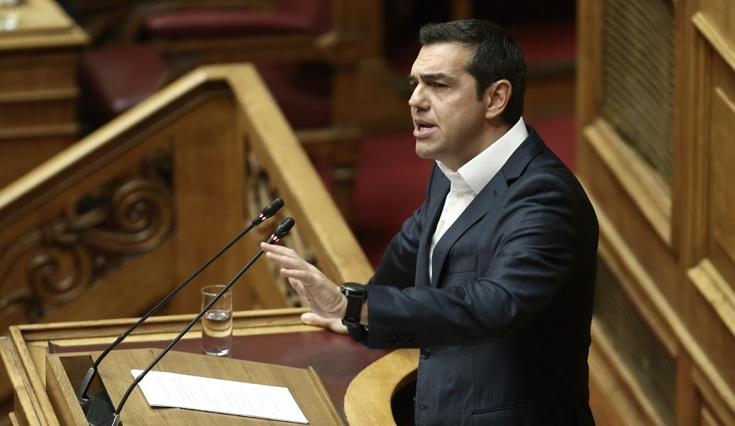 Σκοπιανό: Ο Τσίπρας ενημερώνει την Βουλή για την συμφωνία | Pagenews.gr