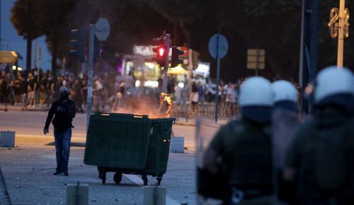 Μετά τον χθεσινό χαμό στη Θεσσαλονίκη οι συλληφθέντες αφέθηκαν ελεύθεροι | Pagenews.gr