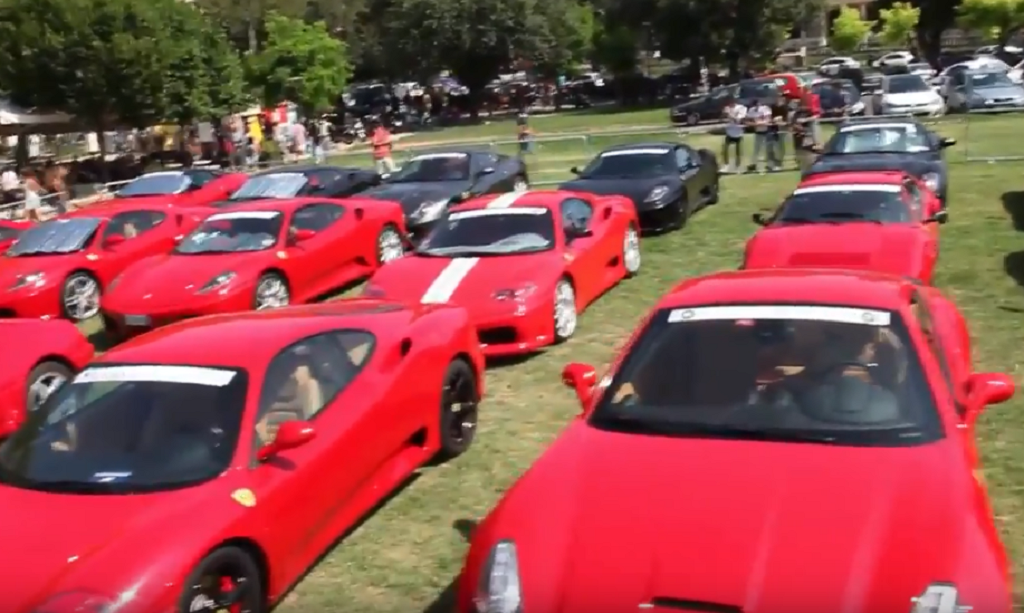 Οι Ferrari «έπνιξαν» το νησί της Κέρκυρας (vid)   Pagenews.gr