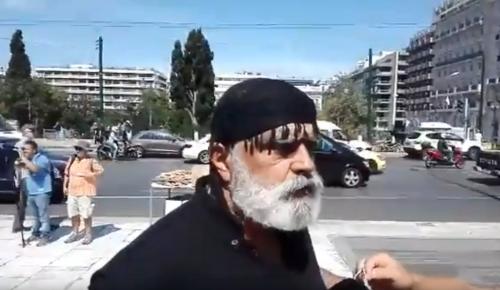 Συλλαλητήριο Μακεδονία: Ένας Κρητικός στην πλατεία Συντάγματος (vid) | Pagenews.gr