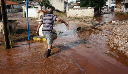 Μάνδρα: Νέες πλημμύρες από την κακοκαιρία (pics) | Pagenews.gr