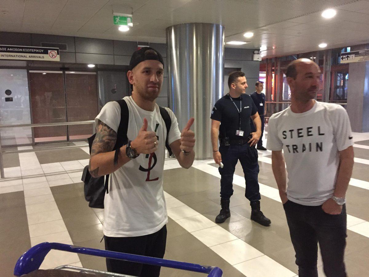 Λέο Ζαμπά: Έφτασε Θεσσαλονίκη και δήλωσε πως θέλει Champions League | Pagenews.gr