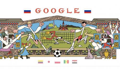 Μουντιάλ 2018: Το doodle της Google αφιερωμένο και πάλι στο Παγκόσμιο Κύπελλο Ποδοσφαίρου | Pagenews.gr